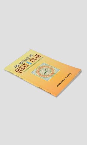 The Message Of Quran & Islam A Scientific Analysis Of The Holy Quran - Final Sale Item_Front_View
