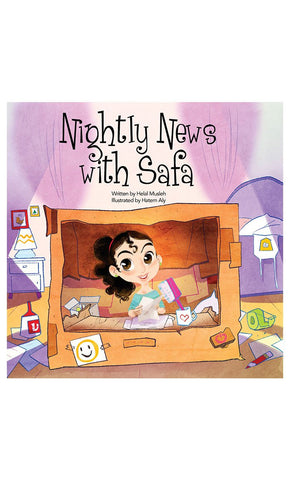 Nightly News with Safa - Final Sale Item_Front_View