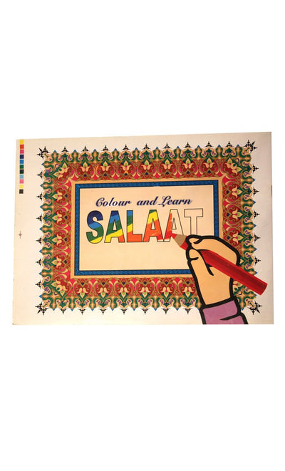 Colour & Learn - Salaat - FINAL SALE ITEM_Front_View