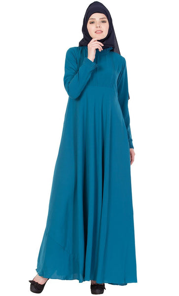 Fun and Frill abaya dress-Final sale_As Pictured_Front_View