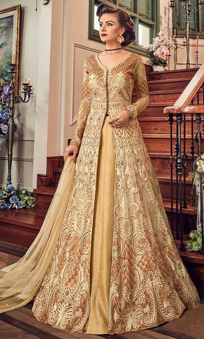 Embellished Floral salwar kameez-Final sale