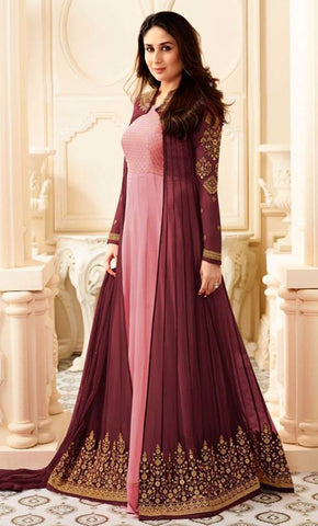 Embroidered Georgette Salwar suit_As Pictured_Front_View