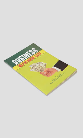 Business Islam Made Easy - Final Sale Item_Front_View