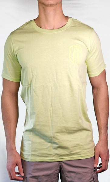 Men's Green Tee - Small Logo - Final Sale Item_As Pictured_Front_View