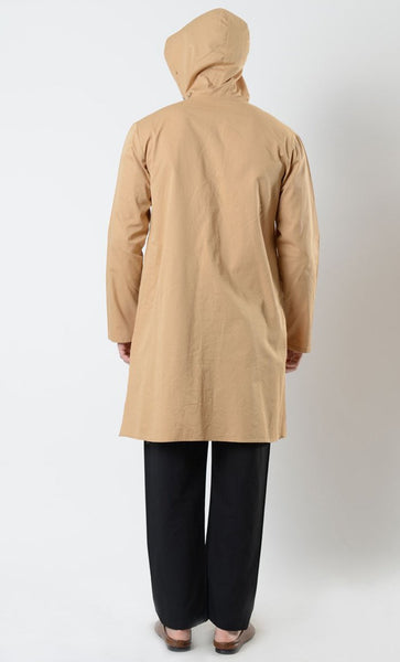 Mens Cotton Hooded Tunic - EastEssence.com