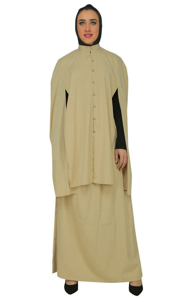 Modest Wear Tee Shirt, Topwear And Asymmetrical Skirt Three Piece Set - EastEssence.com