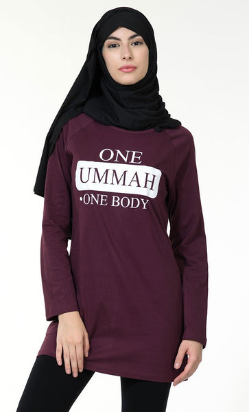 One Ummah One Body Tee - EastEssence.com