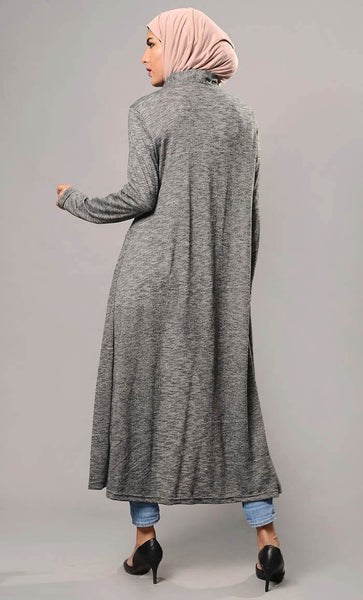 Plain Front Open Shrug-Final Sale - EastEssence.com
