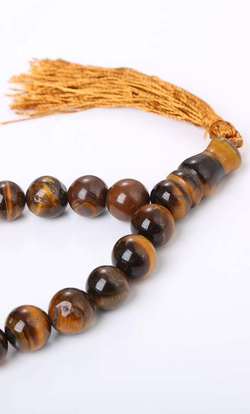 Prayer Beads-Gray Agate - EastEssence.com