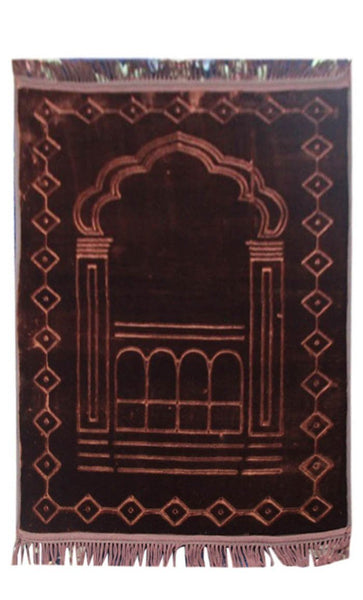 Premium Prayer Rug- Coffee - EastEssence.com