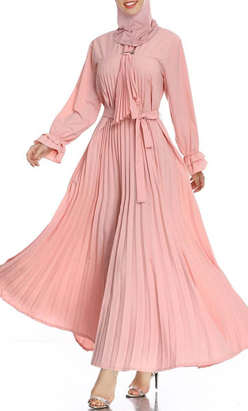 Pretty Pastel Abaya dress - *Size Up* - EastEssence.com