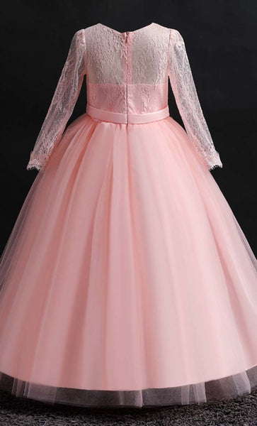 Ravishing Princess Girl's Dress (Pink)-*Size Up* - EastEssence.com