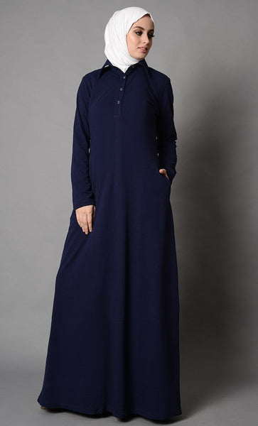 School Uniform Basic Abaya Dress - EastEssence.com