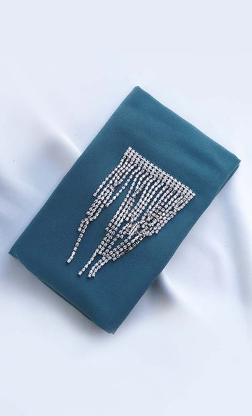 Set of 3 classic chain crystal hijab - EastEssence.com