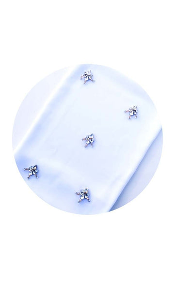 Set of 3 classic raindrop crystal hijab - EastEssence.com