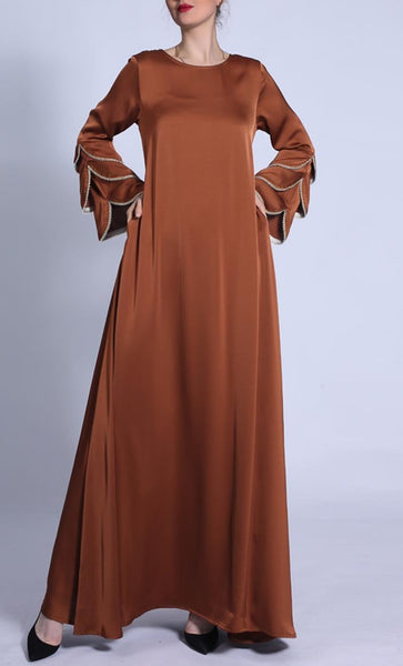 Simple And Chic Everyday Wear Abaya - *Size Up* - EastEssence.com