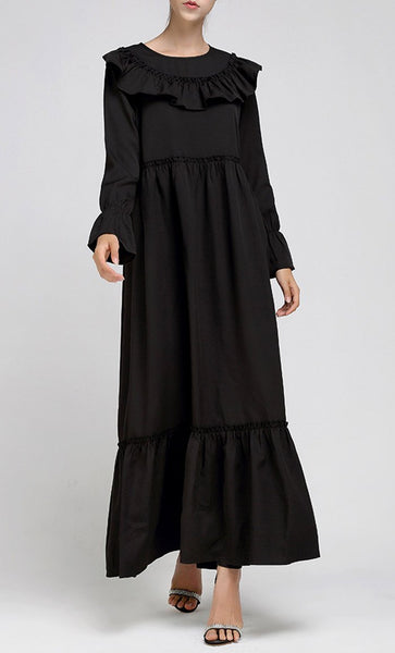 Simple Everyday Abaya - *Size Up* - EastEssence.com