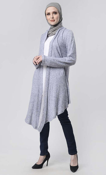 Simple Knit Shrug For Winter - EastEssence.com