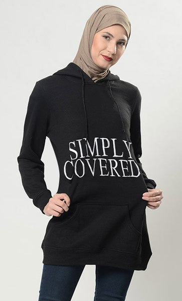 Simply Covered Hoodie Sweatshirt - EastEssence.com