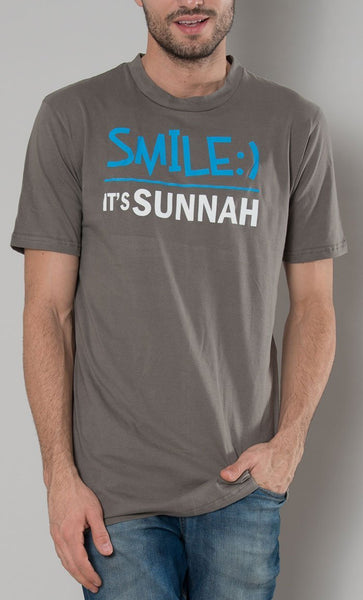 Smile It's Sunnah Men's Tee - EastEssence.com