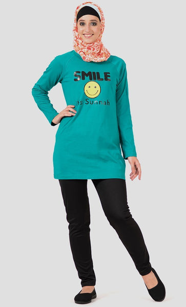 Smile T-Shirt - Final Sale Item - EastEssence.com