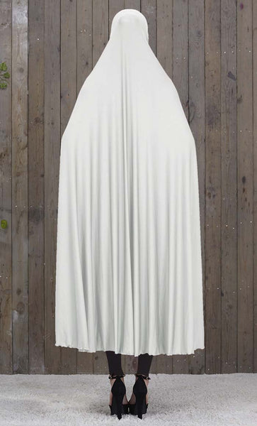 Solid Slip On Abaya Dress - *Size Up* - EastEssence.com