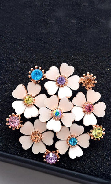 Summer Flower Hijab pin - EastEssence.com