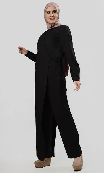 Well Dressed Shrug Jumpsuit - EastEssence.com