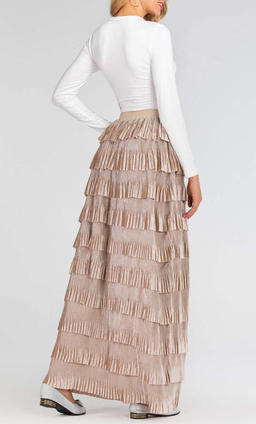 Your Perfect Trendy Skirt (Khaki) *Size Up* - EastEssence.com