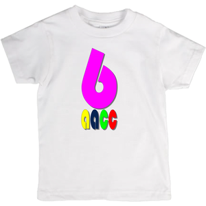 Pink 6 T-Shirts (Youth Sizes)