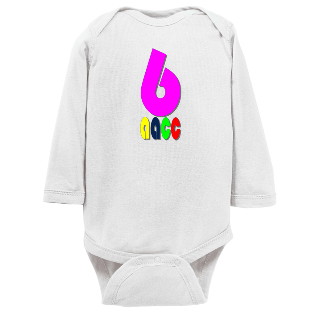 aacc crayonspink6 Onesies