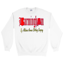 Load image into Gallery viewer, Alabama Avenue Clothing Company Burmingham Red Sweatshirts