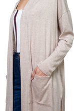 Load image into Gallery viewer, Long Sleeve Pocket Cardigan