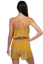 Load image into Gallery viewer, Tube Top Stripe Romper