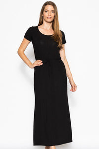 Short Sleeved Maxi Dress