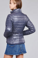 Load image into Gallery viewer, Long Sleeve Quilted Padding Jacket