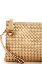 Load image into Gallery viewer, Fashion Cute Trendy Woven Clutch Crossbody Bag With Two Straps