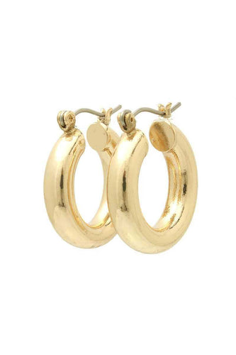 Cute Tube Hoop Earring