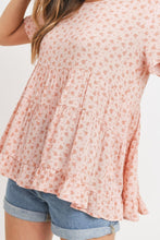 Load image into Gallery viewer, Cang Floral Top With Back Tie