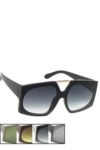Stylish Oval Rectangle Shape Sunglasses
