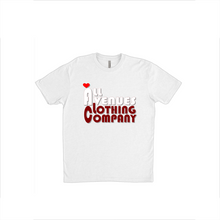 Load image into Gallery viewer, Dat Crimson and White Love T-Shirts