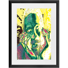 Load image into Gallery viewer, GOAT of Goats Custom Art Framed Prints