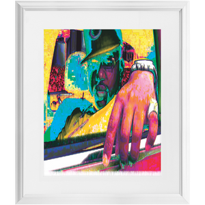 Forever   Drip Framed Prints