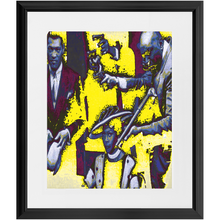 Load image into Gallery viewer, Bumpy's Queen Custom Art Framed Prints