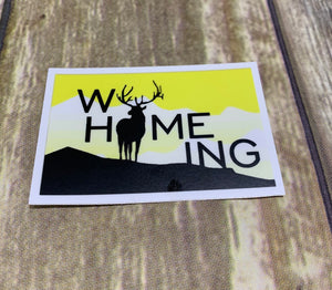 WyHOMEing Bull Decal