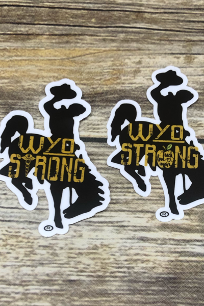 WYO STRONG DECALS