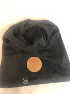 High Pony Tail Beanie/Neck Warmer