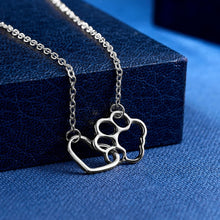 Load image into Gallery viewer, Dog and Heart Necklace