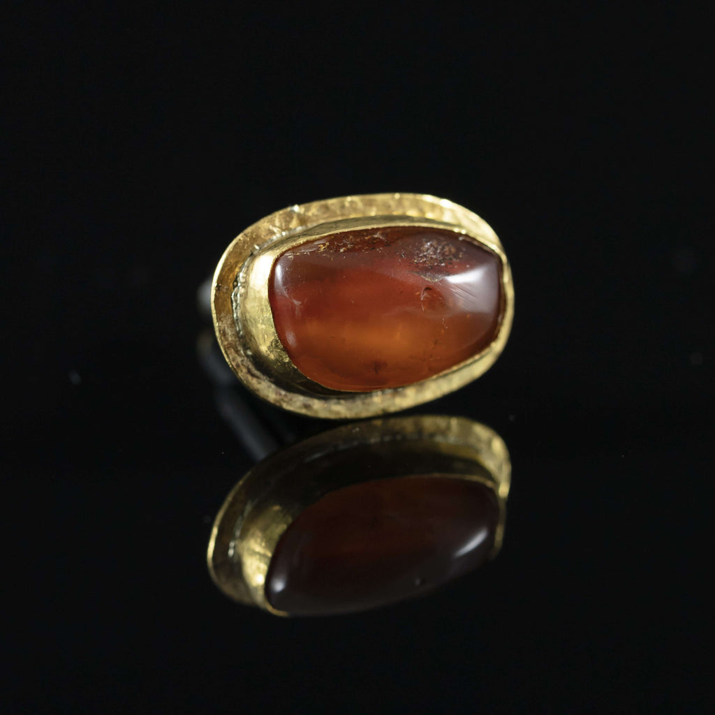 Antique Amber & Gold Cufflinks III