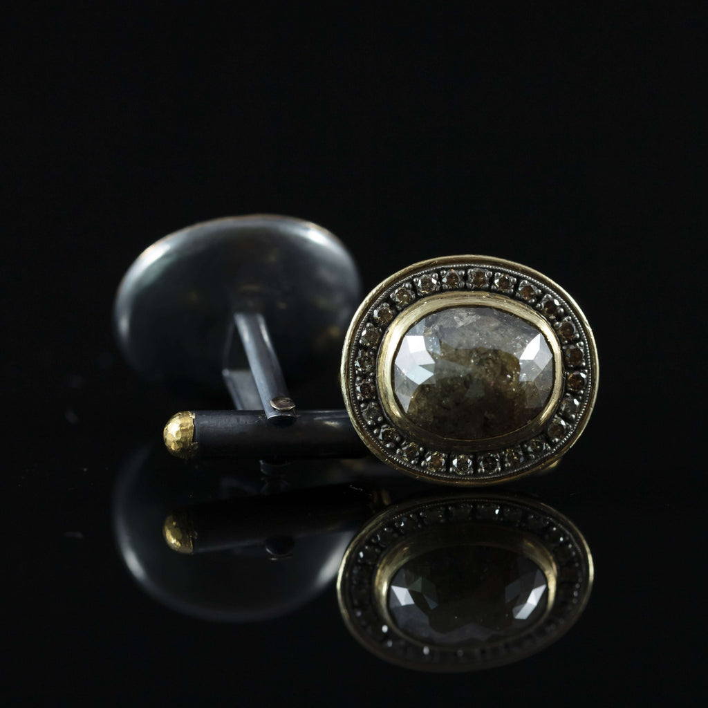 Diamond & Gold Cufflinks I